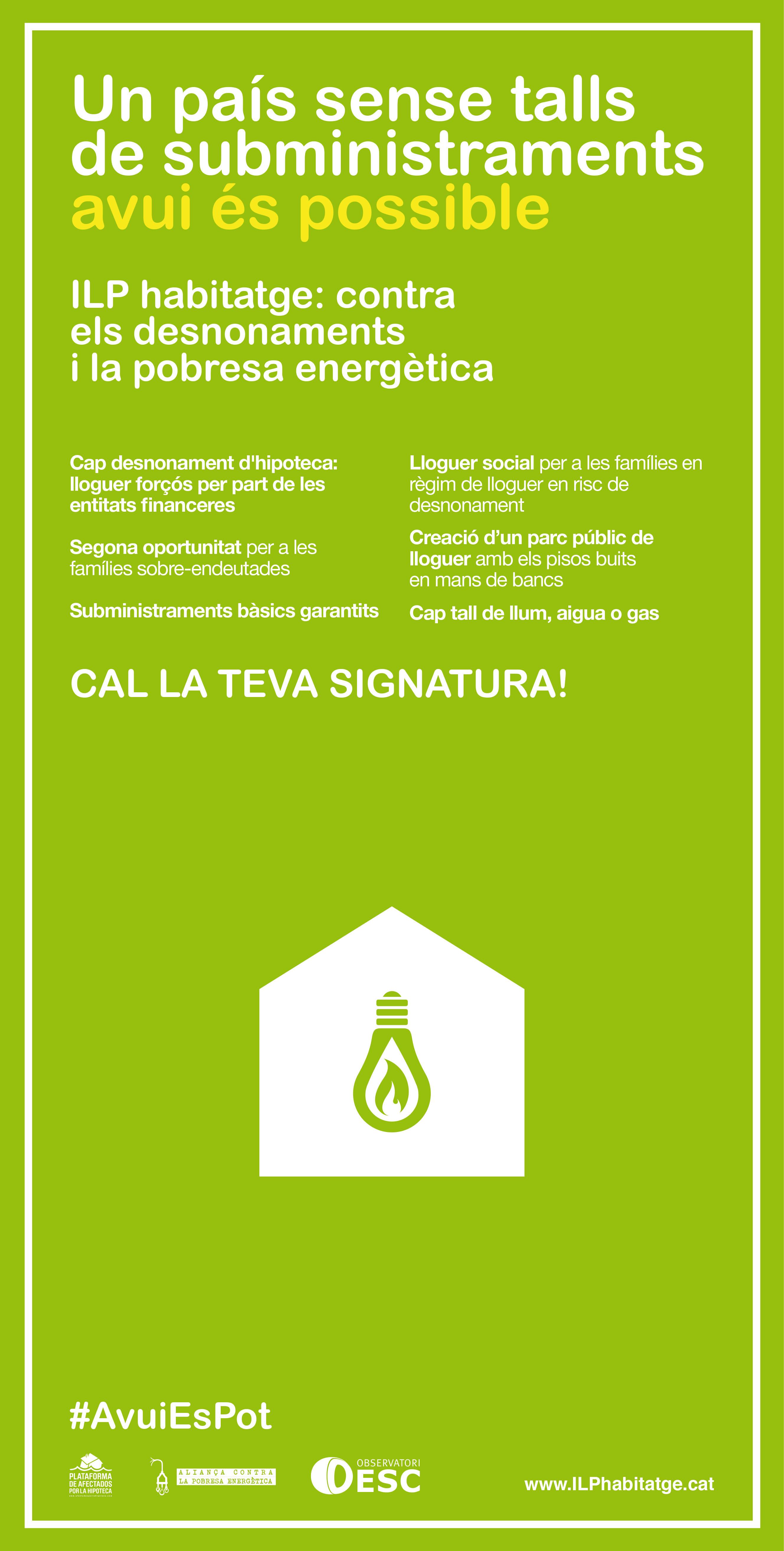Cal la teva signatura